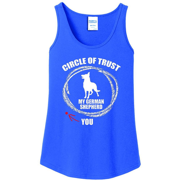 Circle of Trust German Shepherd - Women's Tank Top