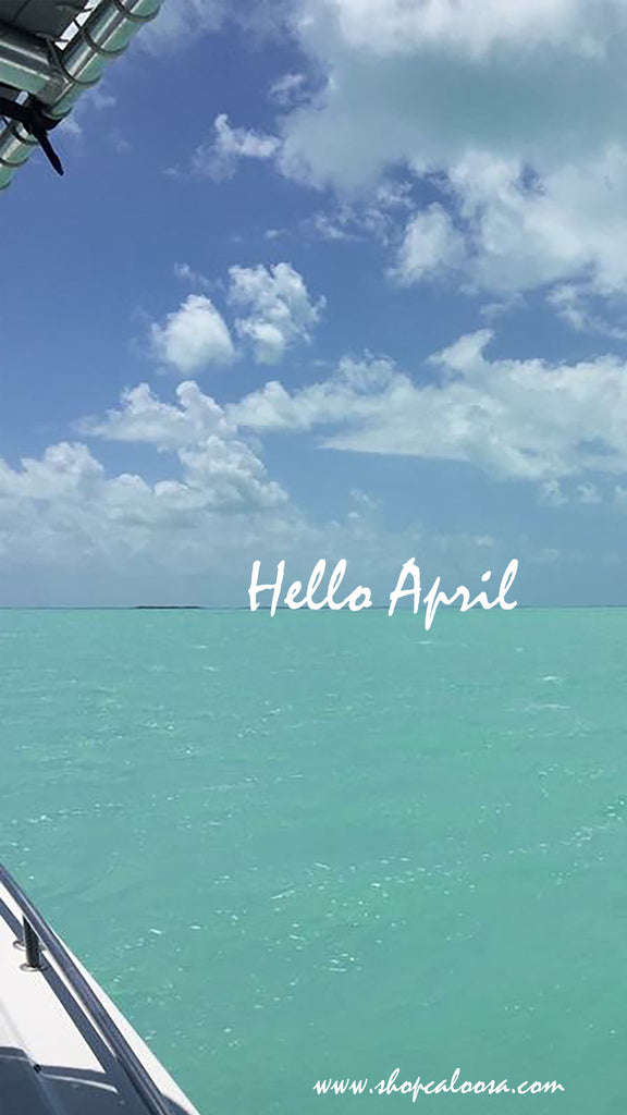 Hello April & Happy Spring...and a free download to Celebrate!