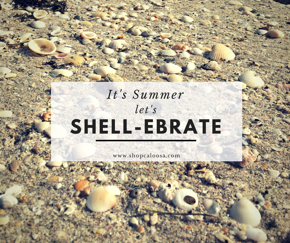 LET'S SHELL-EBRATE THE FIRST DAY OF SUMMER!