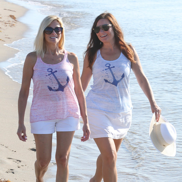 ANCHOR RACERBACK TANK TOP