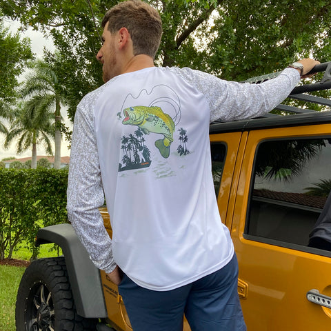 Camo Bass Fishing Ultra Comfort Shirt