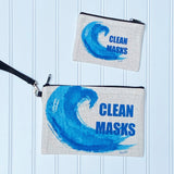 Clean Mask Pouch with Zipper