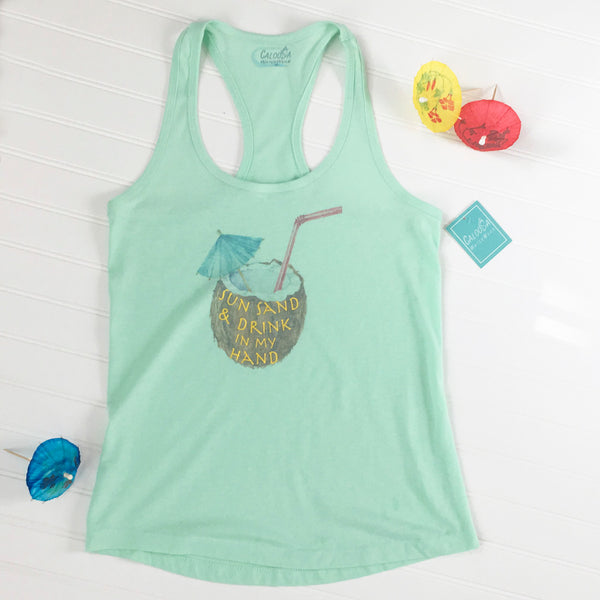 ESCAPE RACERBACK TANK