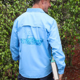 Fish Boat Performance Fishing Shirt
