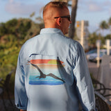 Fishing at Sunset Performance Fishing Shirt