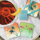 Caloosa Drink Coasters, Set of 4