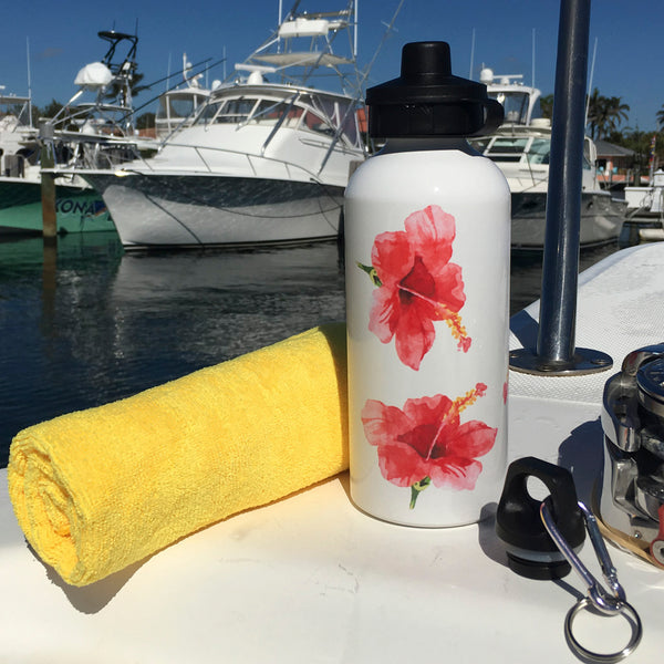 HIBISCUS WATERBOTTLE