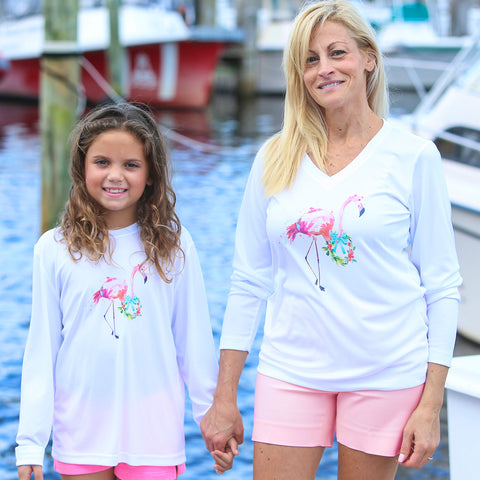 HOLIDAY FLAMINGO ULTRA COMFORT SHIRT