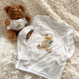 Caloosa Kids Booboo Bear Ultra Comfort Shirt with Teddy Bear