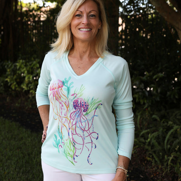 JELLYFISH BLOOM ULTRA COMFORT SHIRT