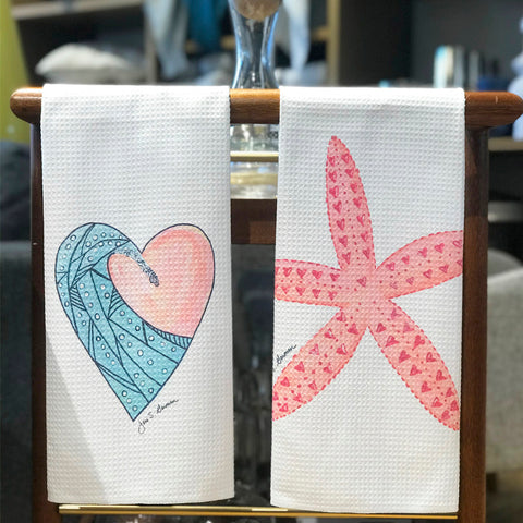 Sweetheart Microfiber Dish Towels
