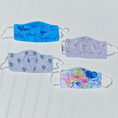 Kids Premium Fashion Fabric Face Mask
