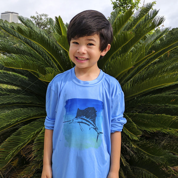 CALOOSA KIDS SAILFISH ULTRA COMFORT SHIRT