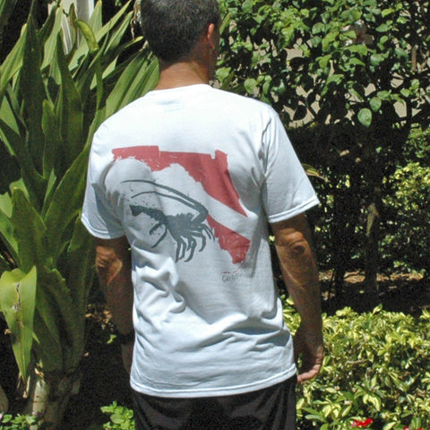LOBSTER DIVE MEN'S T-SHIRT