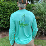 Alligator Beach Ultra Comfort Shirt