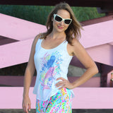 Mermaid Scoop Neck Tank