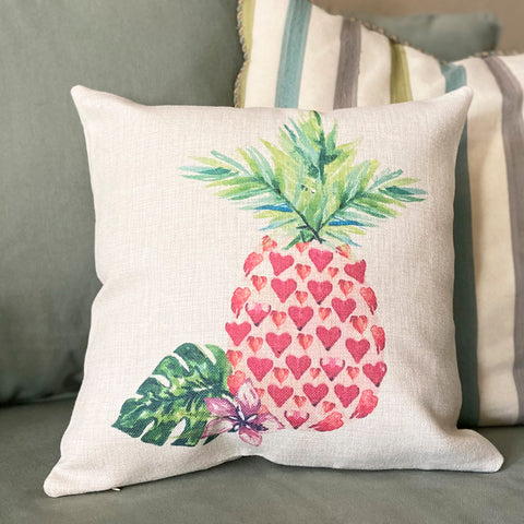 Pineapple Love Toss Pillow