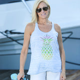 PINEAPPLE PARTY RACERBACK TANK