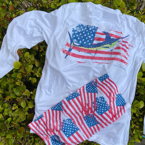 All American Ultra Comfort Shirt and Fishing Buff Set