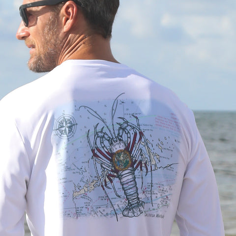 Florida Lobster Chart Ultra Comfort Shirt