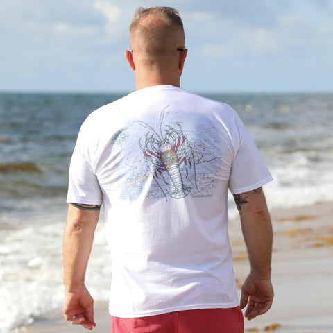 Florida Lobster Chart T-shirt