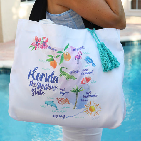 SUNSHINE STATE BEACH BAG
