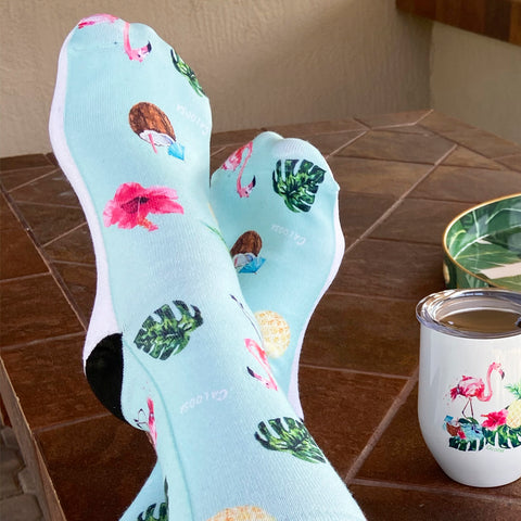 Tropical Life Socks