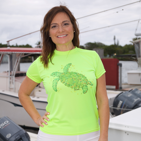SEA TURTLE SHORT SLEEVE ULTRA COMFORT SHIRT