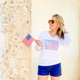 United We Stand Flamingo Flag Ultra Comfort Shirt