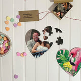 16 pc Heart Shaped Puzzle