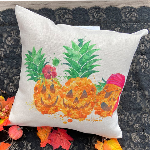 Halloween Toss Pillow with Insert