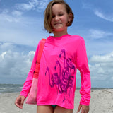 Caloosa Kids Hot Flock Flamingo Ultra Comfort Shirt