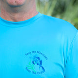 SAVE THE MANATEES ULTRA COMFORT LONG SLEEVE SHIRT