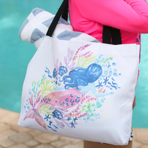 MERMAID BEACH BAG