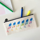 Mermaid Friends Pencil Pouch with Zipper