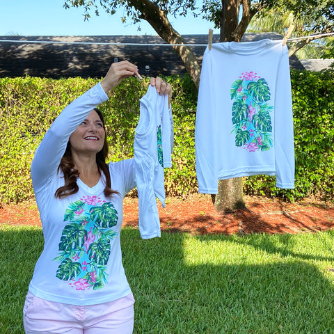 Mother / Daughter Paradise Ultra Comfort Shirt Set