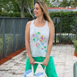 Sail Away Racerback Tank Top