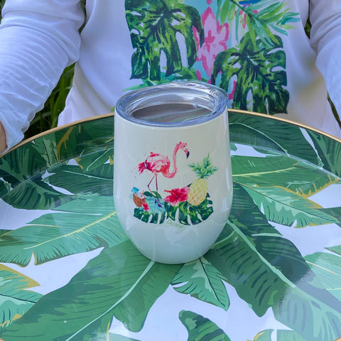 Tropical Life Beverage Tumbler
