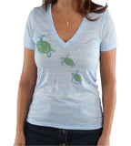 TURTLE TROOP V-NECK SHIRT