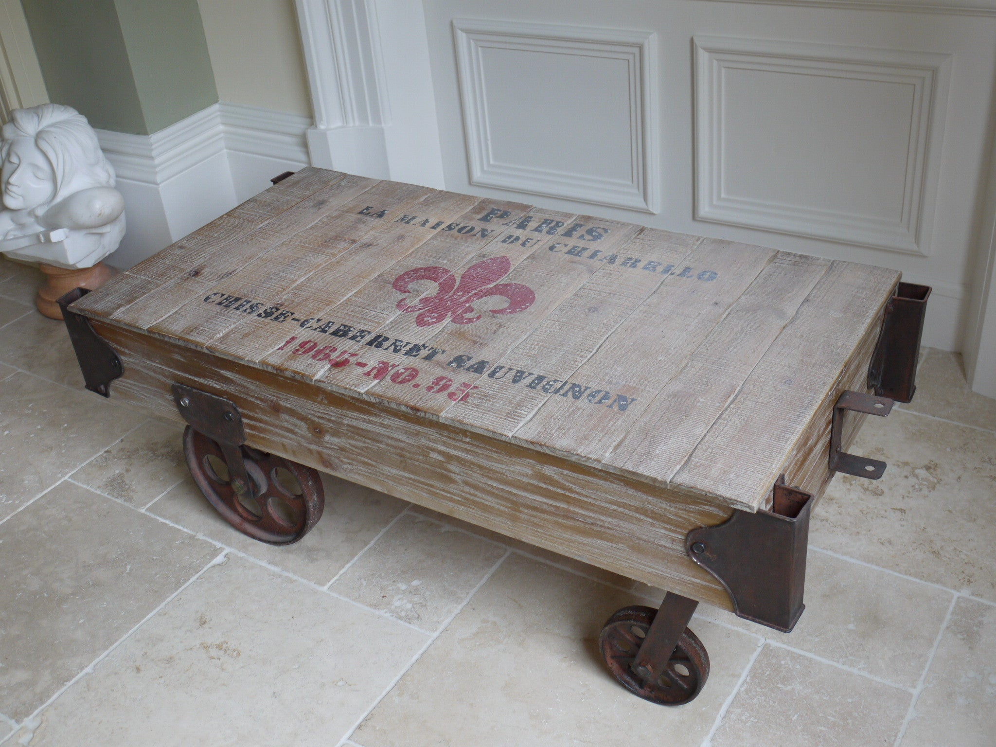 Buy Railway Coffee Table From Furniture Checklist