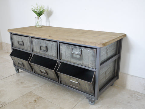 Industrial Cabinet/Sideboard/TV Unit