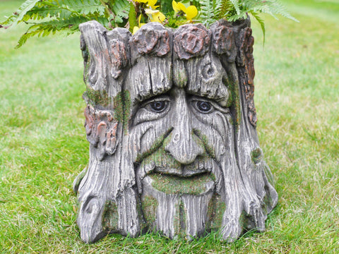 Large Garden Planter Tree Stump