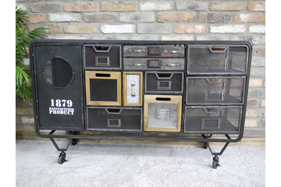 Sideboard Industrial Look