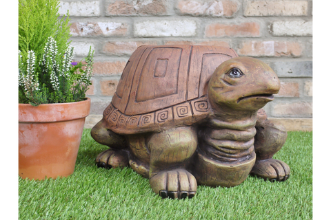 Resin Tortoise / Turtle Garden Stool Garden Ornaments & Lawn Statues | furniturechecklist.co.uk