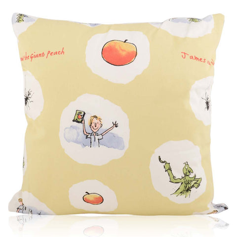 Roald Dahl 'James and the Giant Peach' Cushion Cover