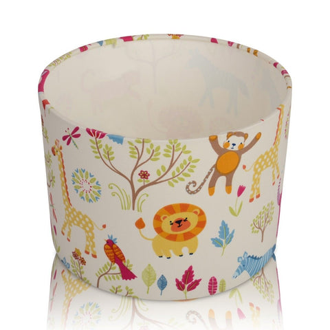 Jungle Boogie Zoo Animals Handmade Lampshade Furniture Checklist
