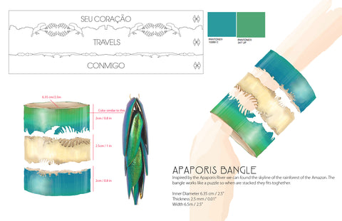 Apaporis bangle final sketch