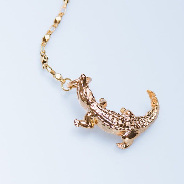 Caiman Secret Necklace