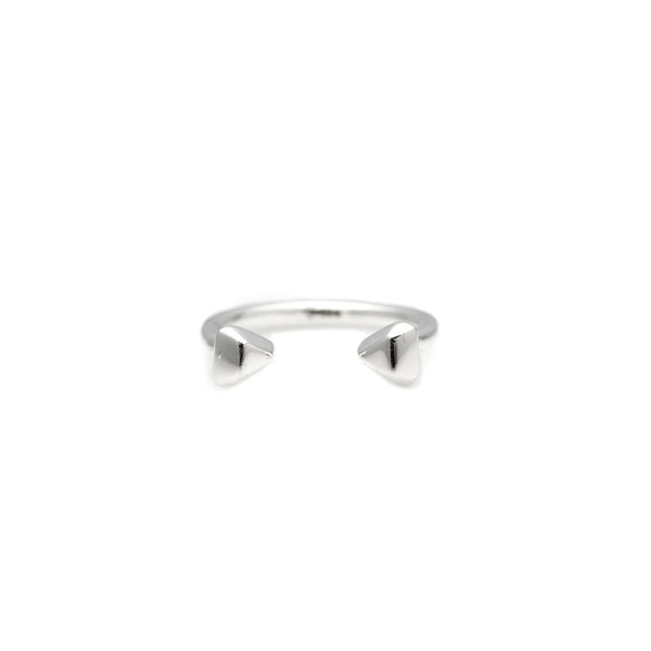 Trillion Mini Ring (Polished)