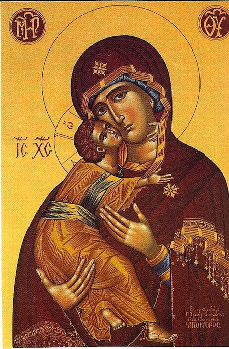 "Theotokos ""Tenderness"" icon(11)"